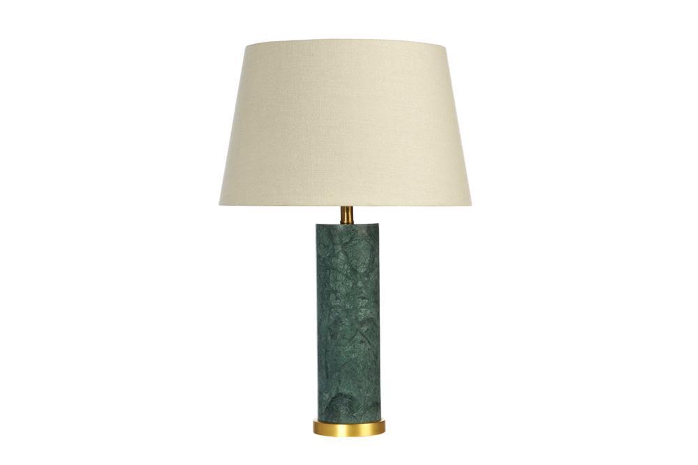 Green Marble Lamp B335L white  Bloomingdales lamps and furniture  Bloomingdales Lamps Table Floor Desk Lamps