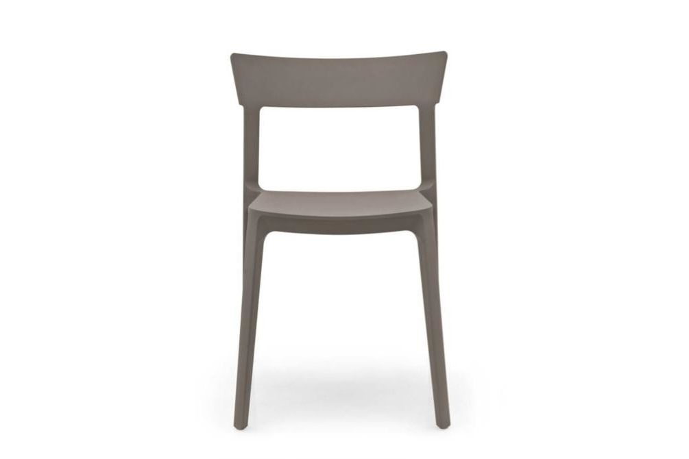 skin grey front  Skin Dining Chair  Skin, Dining Chair, Calligaris, Outdoor, colour
