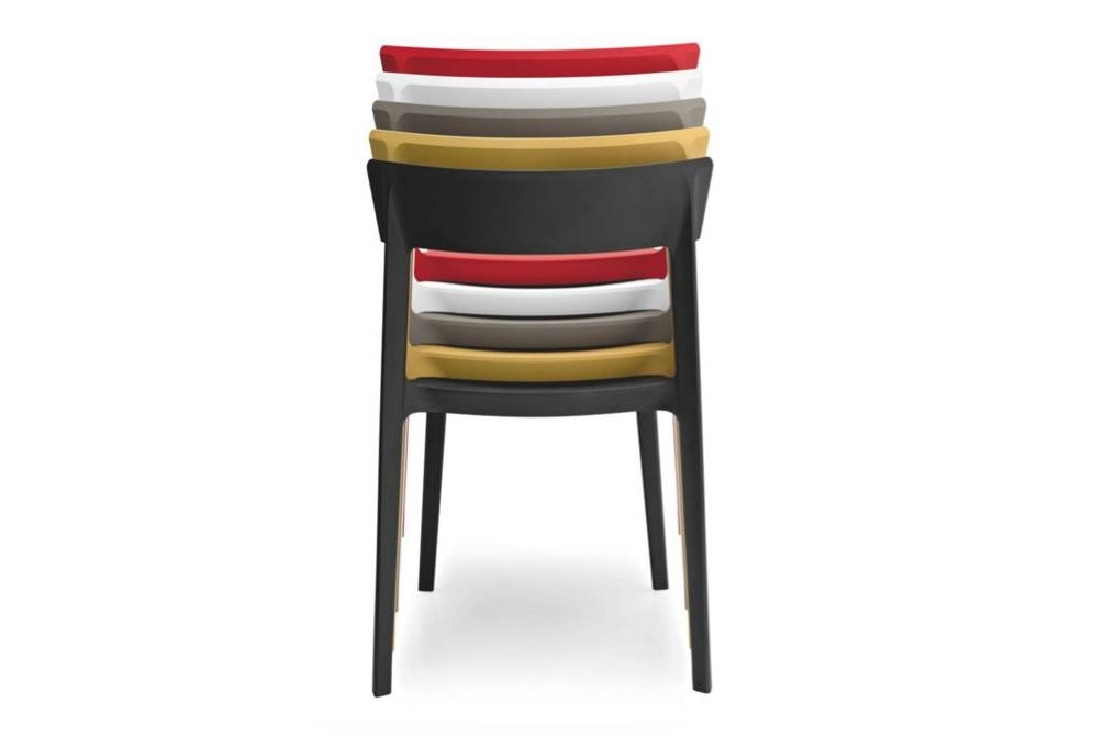 skin stack back  Skin Dining Chair  Skin, Dining Chair, Calligaris, Outdoor, colour
