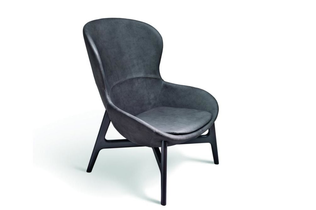 Round Armchair Leather Round Armchair Accent Ditre Italia Armchair