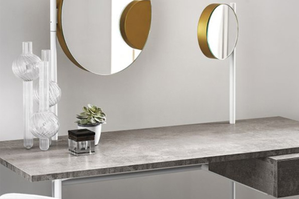 Vanity%202.jpg Vanity Desk_ By Bontempi Casa_Desk with Paper holder_Lacquered metal frame_decorative feet, drawer handle, mirror and light Vanity%202.jpg