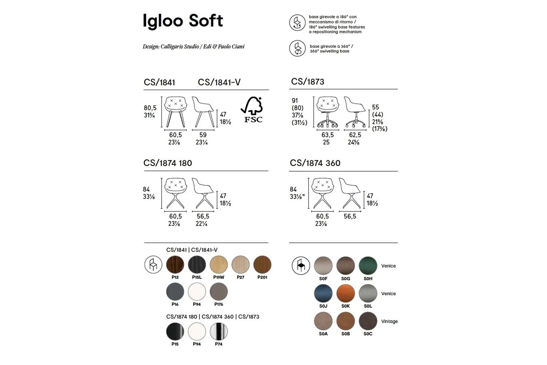 IGLOO SOFT CHAIR Calligaris Schematics IGLOO_SOFT-CHAIR_Calligaris_Schematics.jpg 2018