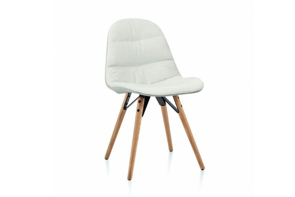 Mood covered chair 4 Leg wood by Bontempi Casa Made in italy Mood covered chair_ 4 Leg wood_ by Bontempi Casa_ Made in italy mood 34 08r l109 z006 tn001 1.jpg