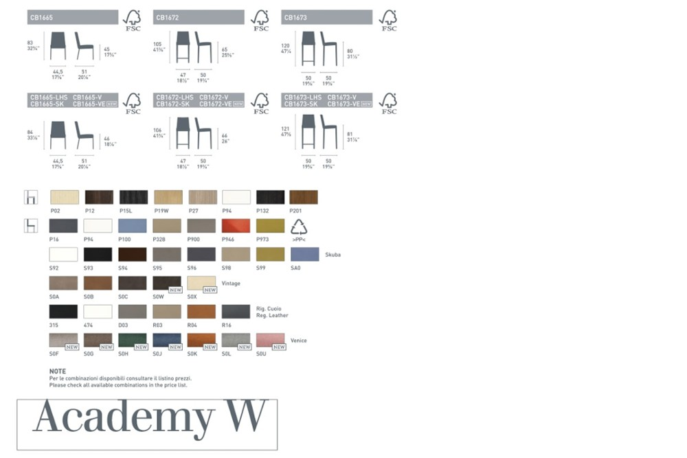 Academy w spec sheet Academy w spec sheet.jpg Academy wood chair%5FBy Calligaris%5F Four legs%5F