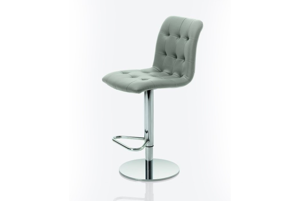 Kuga%20gas%20lift%202.jpg Kuga bar stool _ By Bontempi Casa_ Made in Italy_ Swivel base_Chrome metal frame_ Adjustable height Kuga%20gas%20lift%202.jpg