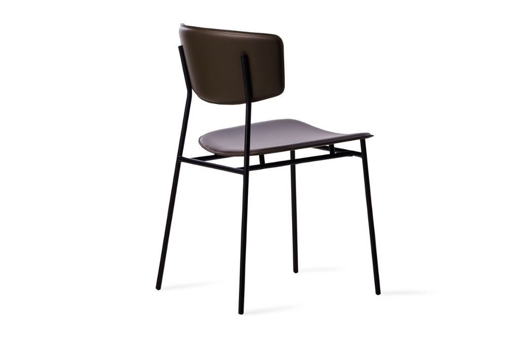 CS1854 Fifties Chair Mud Brown Leather Black Frame Calligaris Back Angle CS1854_Fifties_Chair_Mud-Brown-Leather_Black-Frame_Calligaris_Back-Angle.jpg