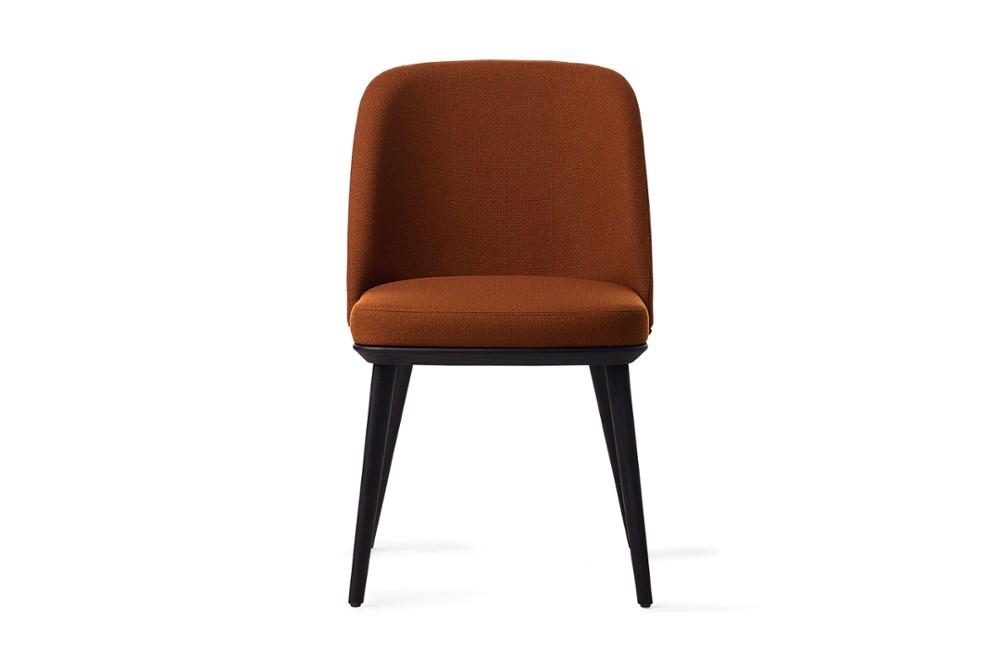CS1888 Foyer Chair Bergan Brick Red Fabric Matt Black Wood Frame Calligaris Front CS1888_Foyer_Chair_Bergan-Brick_Red-Fabric_Matt-Black-Wood-Frame_Calligaris_Front.jpg