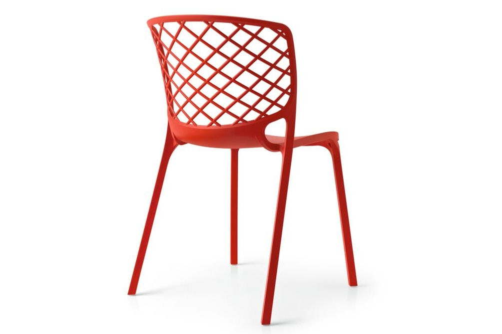 gamera red back Gamera chair Calligaris, Gamera, Outdoor