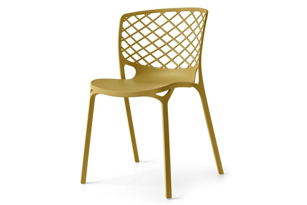 gamera mustard Gamera chair Calligaris, Gamera, Outdoor