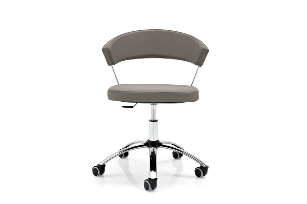 new york office taupe New York chairs New York, dining chair, office chair, cantilver, white, black, brown, taupe, sled