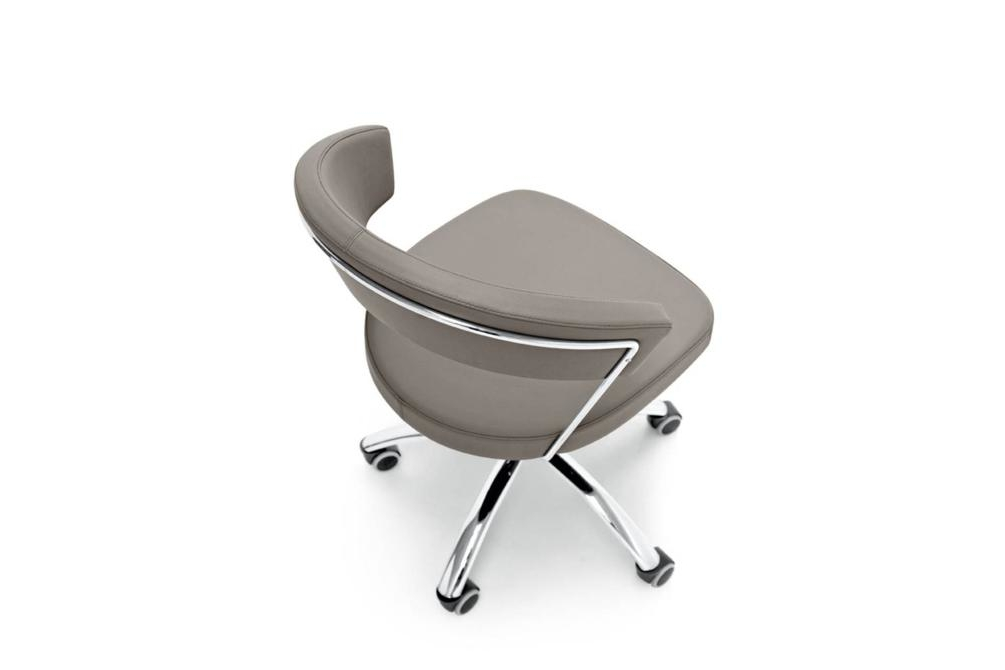 new york office taupe side New York chairs New York, dining chair, office chair, cantilver, white, black, brown, taupe, sled