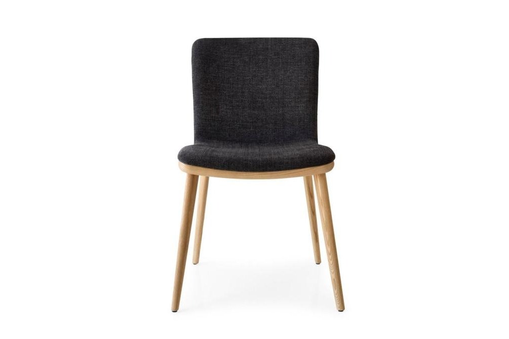 Annie Fabric Natural Charcoal Annie and Stockholm Dining Chair Annie, Stockholm Calligaris, Leather, Fabric, Dining chair