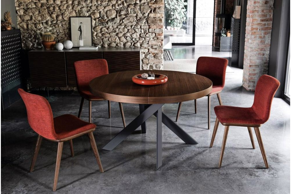 Tivoli Wood Closed Annie Setting Annie and Stockholm Dining Chair Annie, Stockholm Calligaris, Leather, Fabric, Dining chair