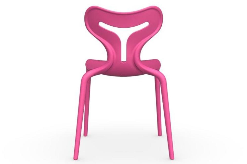 calligaris area 51 pink outdoor chair Calligaris Area 51 Outdoor dining chairs