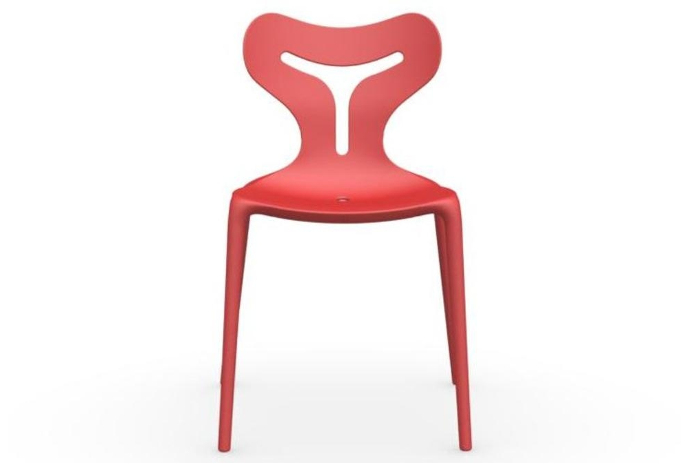 calligaris area 51 red outdoor chair Calligaris Area 51 Outdoor dining chairs