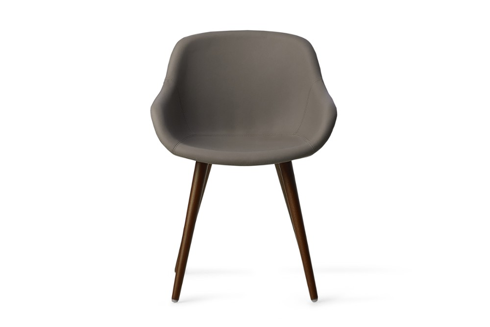 CS1841 Igloo Dining Chair Skuba Taupe Walnut Wood Frame Calligaris Front CS1841_Igloo_Dining_Chair_Skuba-Taupe_Walnut-Wood-Frame_Calligaris_Front.jpg