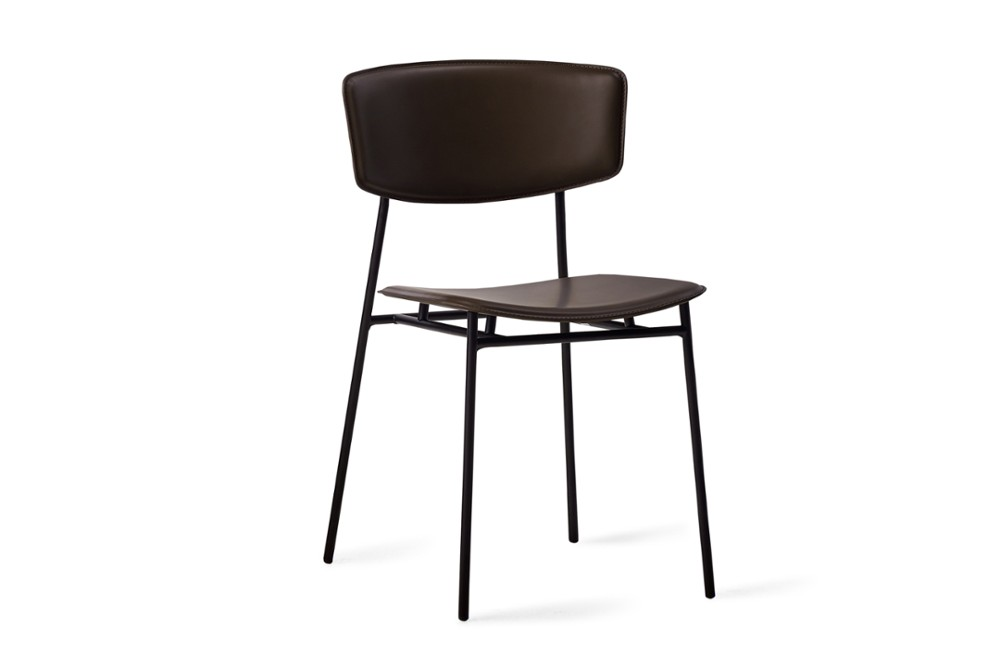 CS1854 Fifties Chair Mud Brown Leather Black Frame Calligaris Angle CS1854_Fifties_Chair_Mud-Brown-Leather_Black-Frame_Calligaris_Angle.jpg