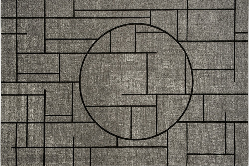 Oriental%201.jpg Oriental Rug _ By calligaris_ Made in Italy_ Designed by Alessio Romano_ gEOMETRIC pATTERN_ cONTINUOUS LINES_ jACQUARD WEAVE_ Mixed Chenille Oriental%201.jpg