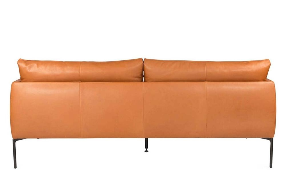 Mavis Tan Leather Sofa Back Mavis Sofa Range Italian Amura Mavis Sofa Range Italian Amura