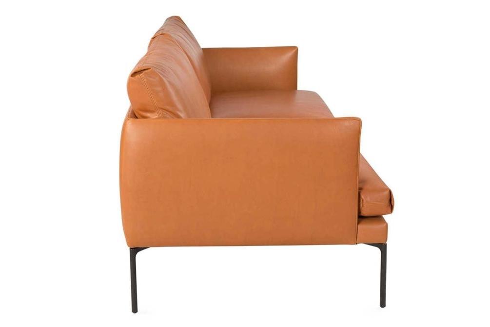Mavis Tan Leather Sofa Side Mavis Sofa Range Italian Amura Mavis Sofa Range Italian Amura