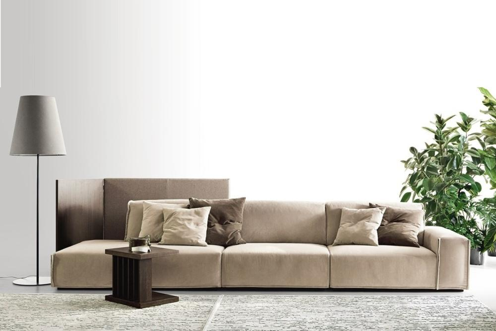 Monolith Web 1 Monolith Ditre Italia Monolith Ditre Italia Italian Fabric Leather Modular Sofa