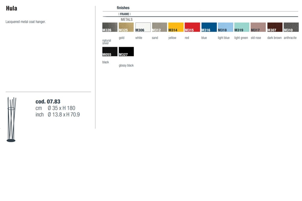 Hula%20spec%20sheet.jpg Hula Coat Rack_ Bontempi Casa_ Made in Italy_Lacquered metal coat hanger. Hula%20spec%20sheet.jpg