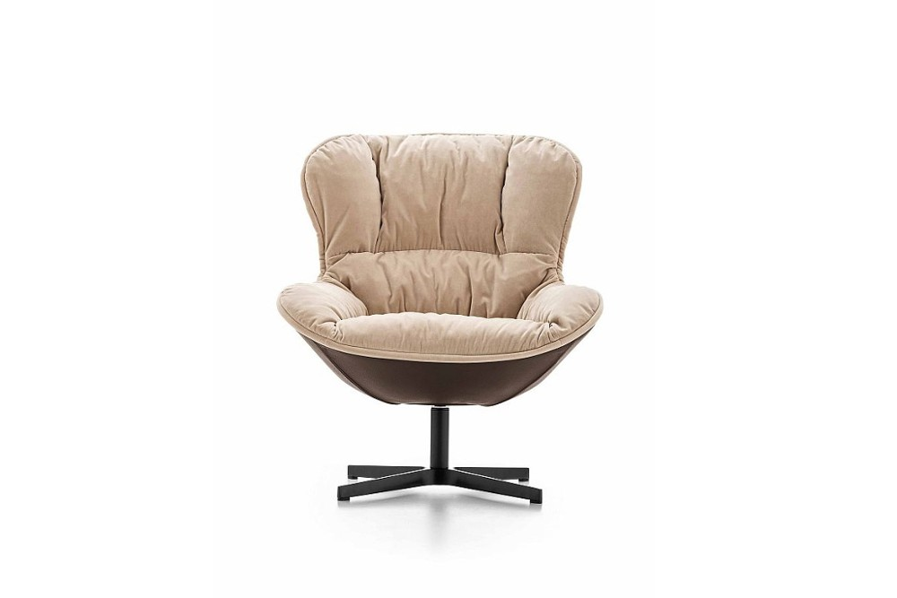 Softy%201.jpg Softy Armchair_By Ditre Italia_Made in italy_Designed by Edi & Paolo Ciani Design_Upholstered _Metal Base_wood base_Lounge_Soft Padded seat_Fixed or swivel base options Softy%201.jpg