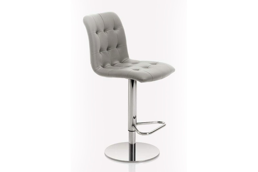 Kuga%20gas%20lift%203.jpg Kuga bar stool _ By Bontempi Casa_ Made in Italy_ Swivel base_Chrome metal frame_ Adjustable height Kuga%20gas%20lift%203.jpg