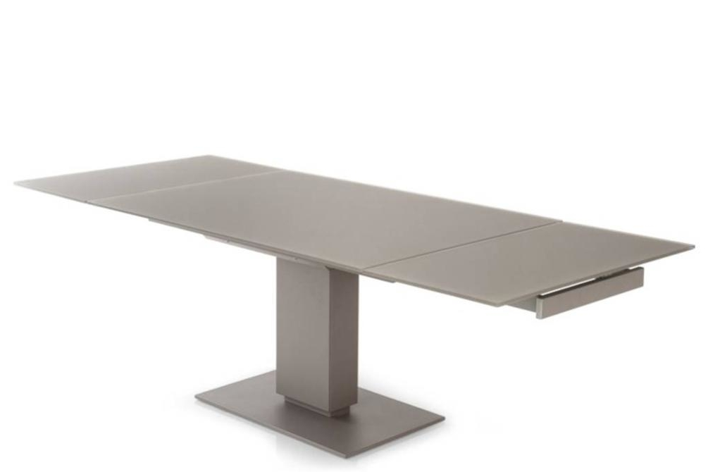 echo extension table black open calligaris echo cantilever extension