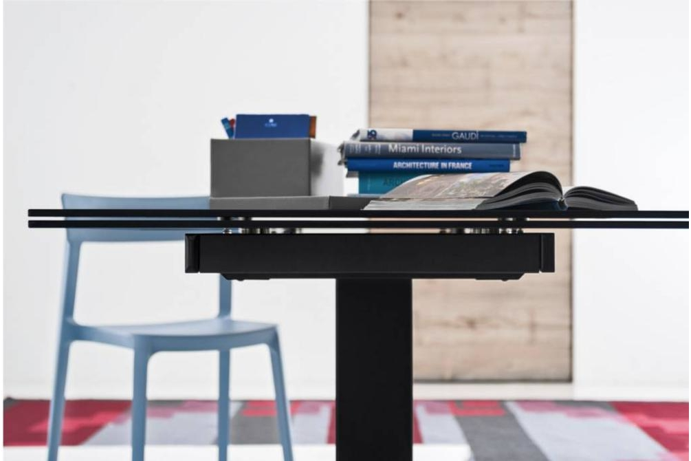 echo extension table black setting calligaris echo cantilever extension