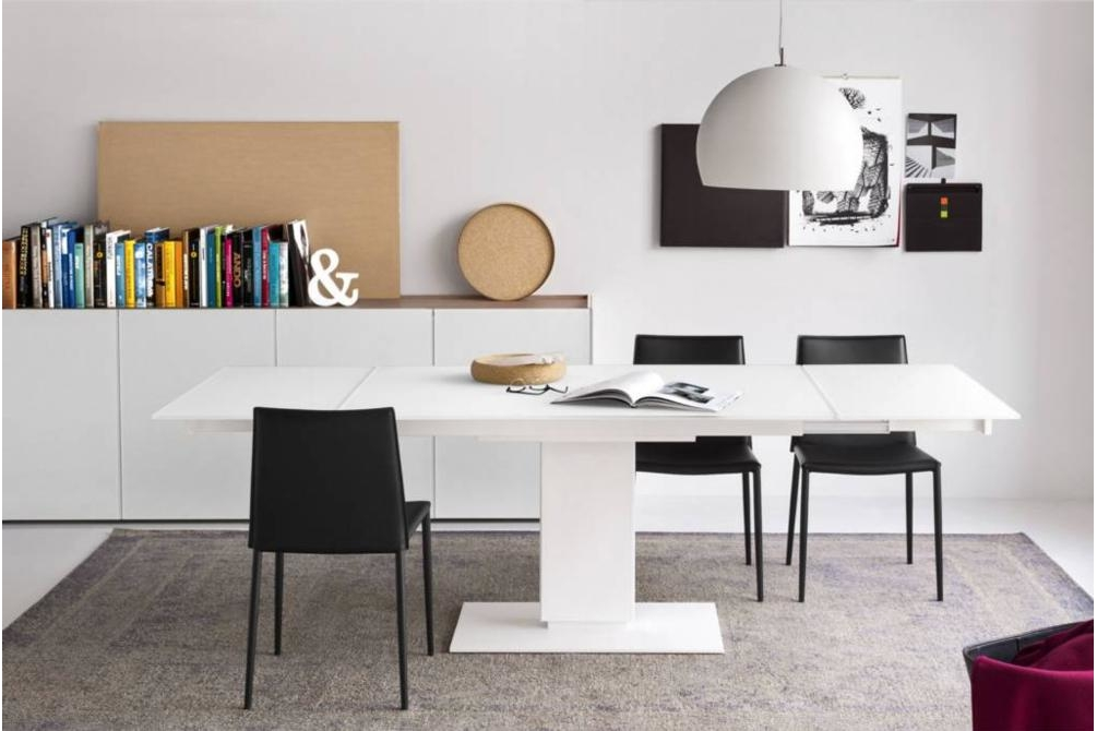 echo extension table white setting calligaris echo cantilever extension