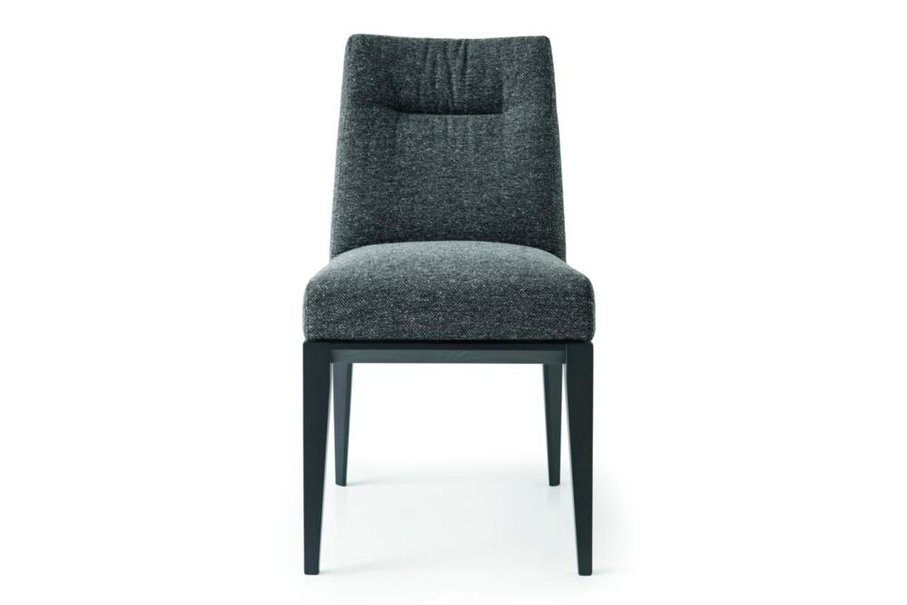 tosca fabric tweed anthracite Calligaris Tosca Dining Chairs