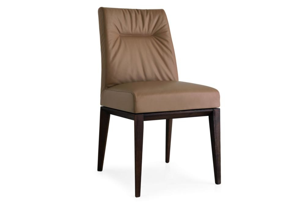 tosca leather coffee Calligaris Tosca Dining Chairs