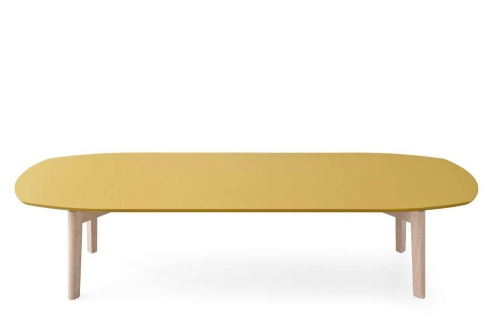 match coffee tables large low yellow Calligaris product shots Match, Duffy