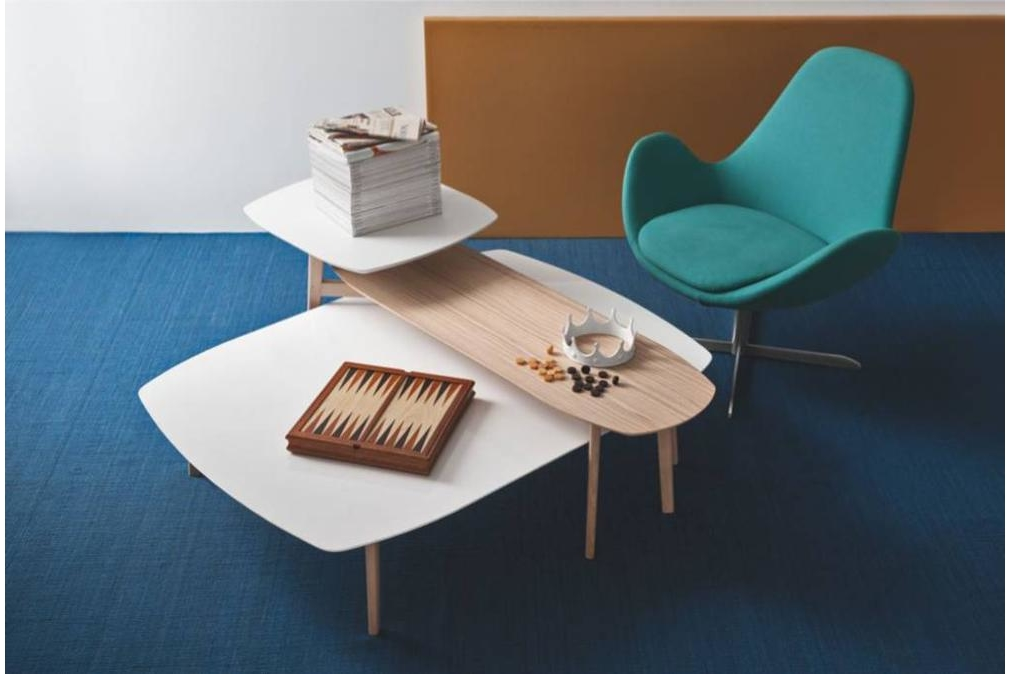 match coffee tables setting electa Calligaris product shots Match, Duffy