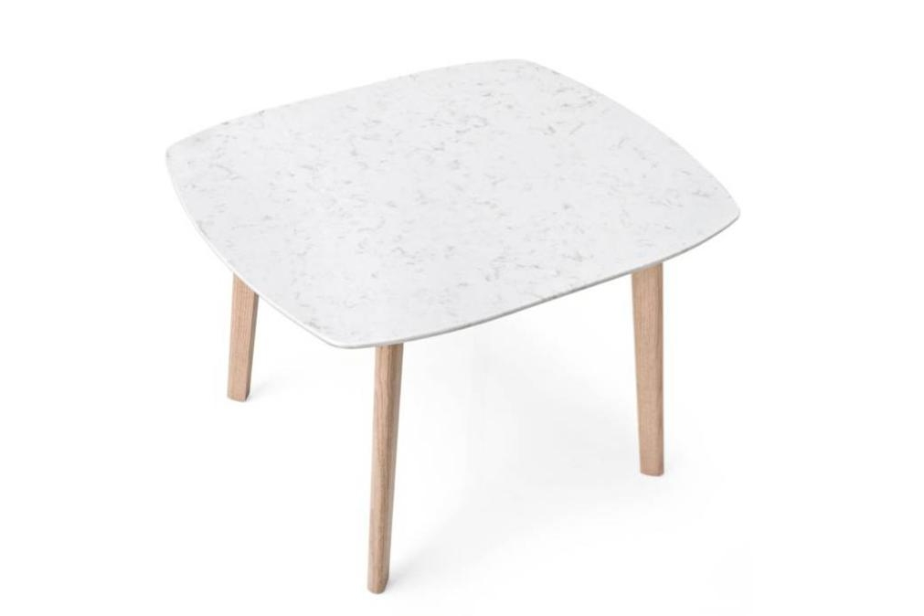 match coffee tables square white marbled Calligaris product shots Match, Duffy