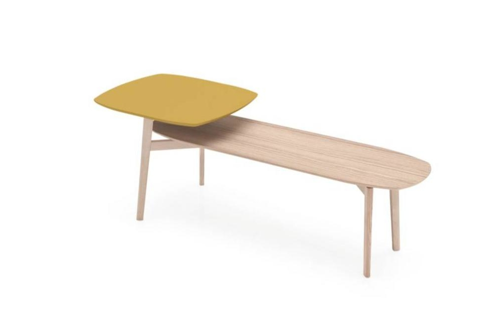match coffee tables yellow natural Calligaris product shots Match, Duffy