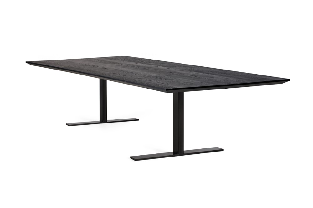 Manhattan Girder Black Coated Base Sharknose Top Table Voyager Angle.jpg Manhattan Girder Black Coated Base Sharknose Top Table Voyager Front Manhattan Girder Black Coated Base Sharknose Top Table Voyager Front