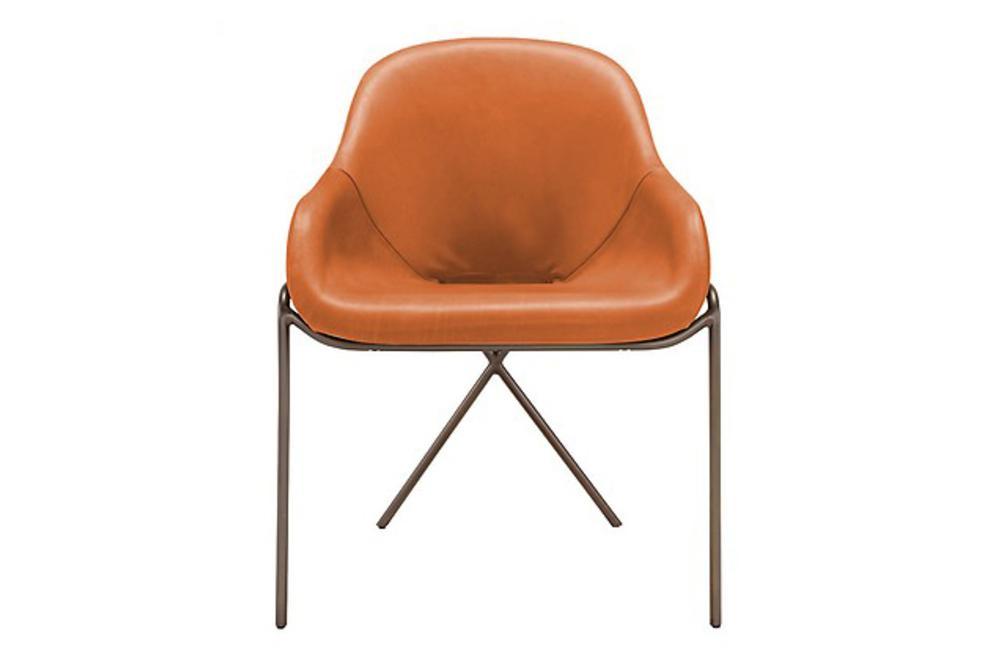 Cross%20Leg%20Armchair%20Carver%20-%20Amura%20-%20Front%20Straight%20View.jpg Cross Leg Armchair Carver Dining Chair - Tan Leather - Amura - Front Shot Cross%20Leg%20Armchair%20Carver%20-%20Amura%20-%20Front%20Straight%20View.jpg Cross Leg Armchair Carver Dining Chair - Tan Leather - Amura - Front Shot Tan Leather Carver Organic Shape Industrial Style Armchair Small Armchair