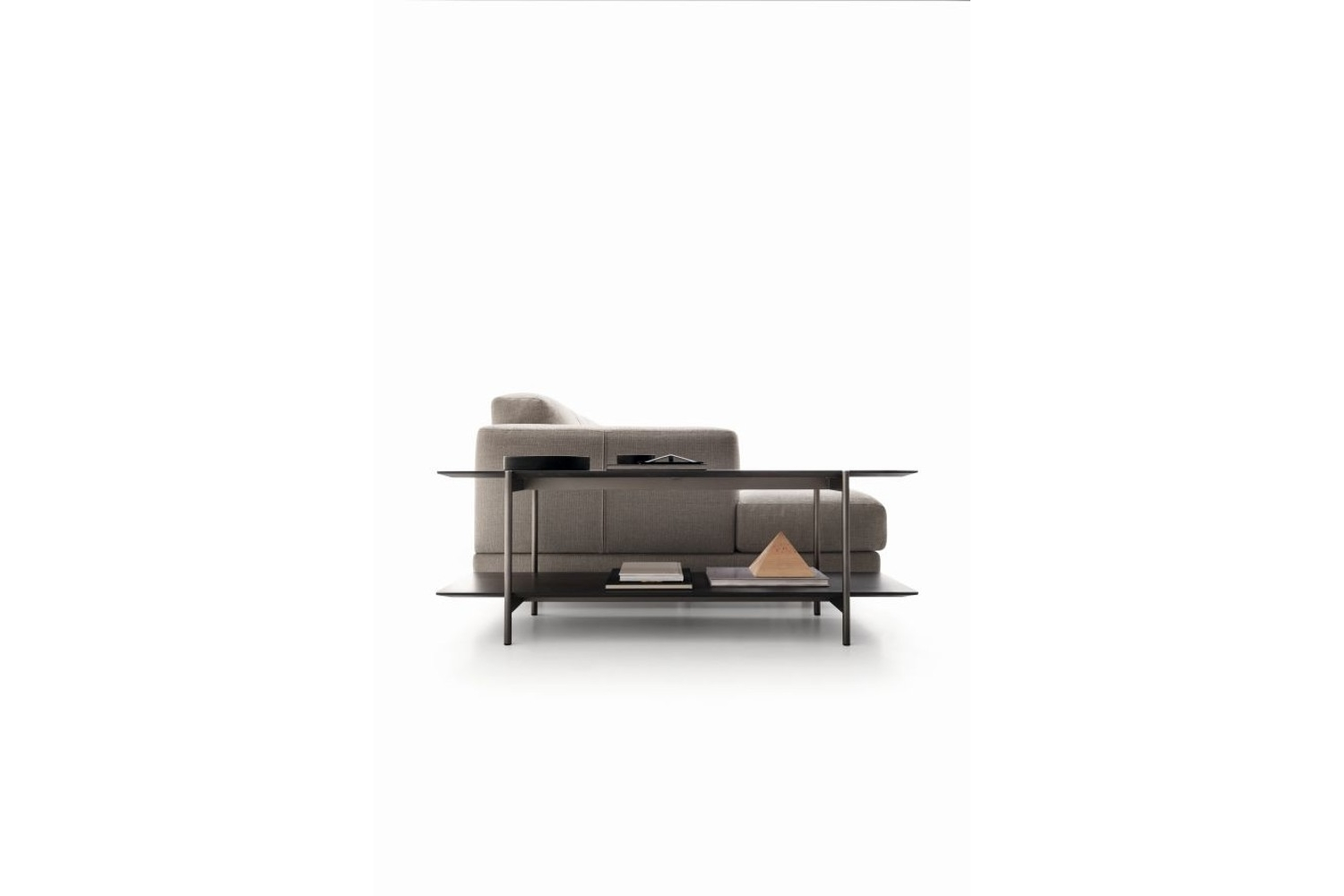 Nevill panca dal basso senza cuscino.jpg Nevyll sofa_Made by Ditre Italia_In Italy_Low back and High back options_ Fabric and Leather Upholstery Nevill panca dal basso senza cuscino.jpg