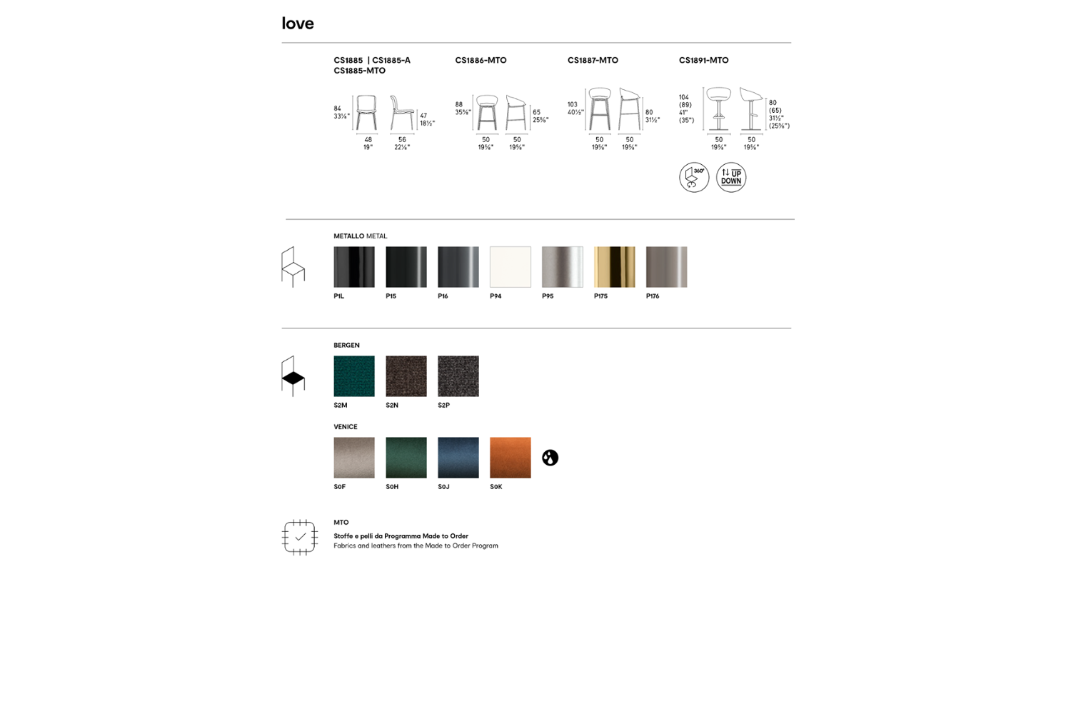 LOVE CHAIR SCHEMATIC CALLIGARIS LOVE CHAIR SCHEMATIC CALLIGARIS LOVE CHAIR SCHEMATIC CALLIGARIS