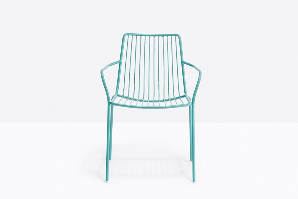 Nolita 3656 02 zoom.jpg Nolita carver chair_ DESIGN:CMP DESIGN_outdoor seatings_ metal garden chairs_Armchair with high backrest_completely made of steel and designed specifically for outdoor use. Stackable. A seat cushion is also available. Nolita 3656 02 zoom.jpg