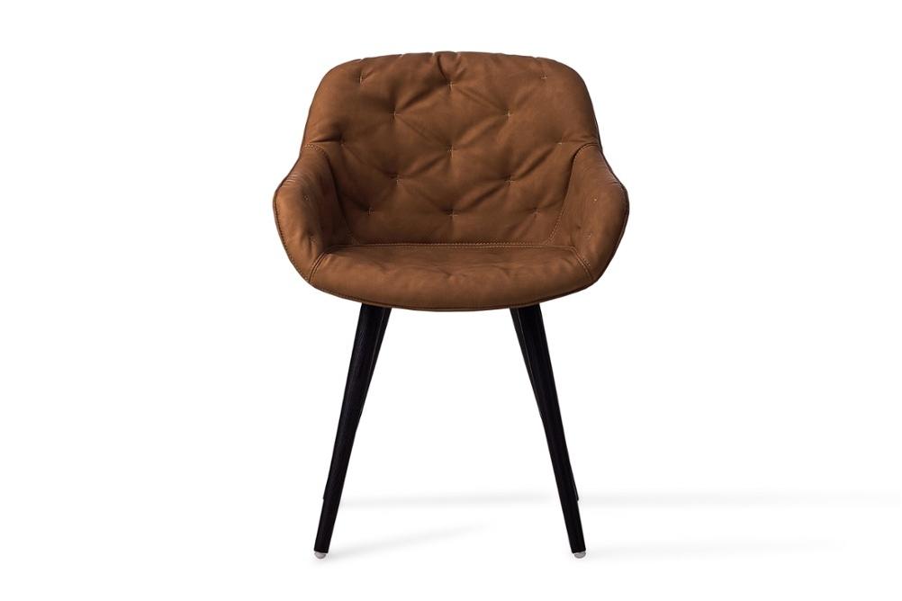 CS1841 Igloo Soft Dining Chair Ebony Vintage Black Wood Frame Calligaris Frontjpg CS1841_Igloo_Soft_Dining_Chair_Ebony-Vintage_Black-Wood-Frame_Calligaris_Frontjpg.jpg