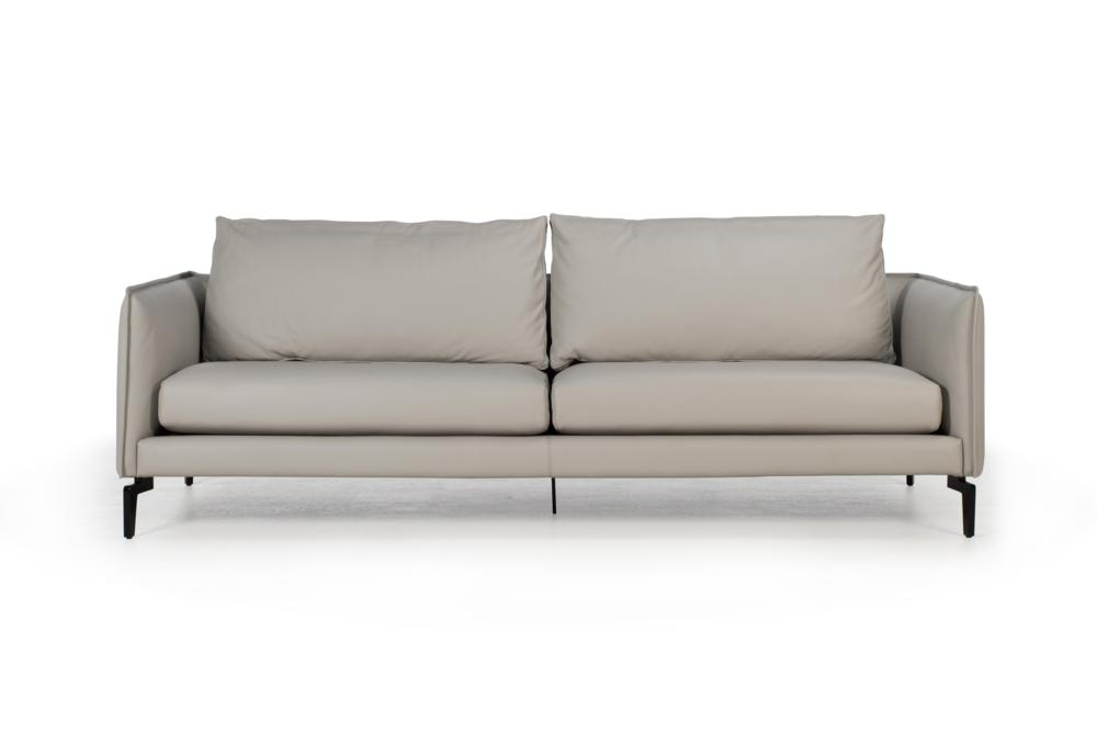 Barnaby%20200cm%20Sofa%20-%20Ash%20Grey%20Front%20Straight.jpg Barnaby 3 seater 200cm Ash Grey Leather PX30.056 Black Metal Legs - Amura Barnaby%20200cm%20Sofa%20-%20Ash%20Grey%20Front%20Straight.jpg Barnaby 3 seater 200cm Ash Grey Leather PX30.056 Black Metal Legs - Amura Contempo Made in Italy Amazing comfort sofa Stock ready to go ready2go