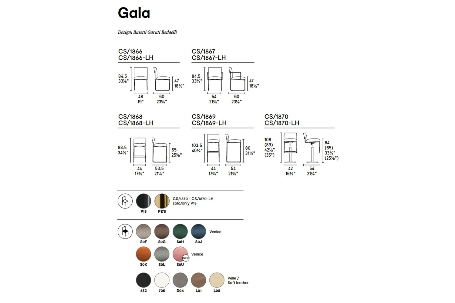 GALA CHAIRS Calligaris Schematics GALA_CHAIRS_Calligaris_Schematics.jpg 2018
