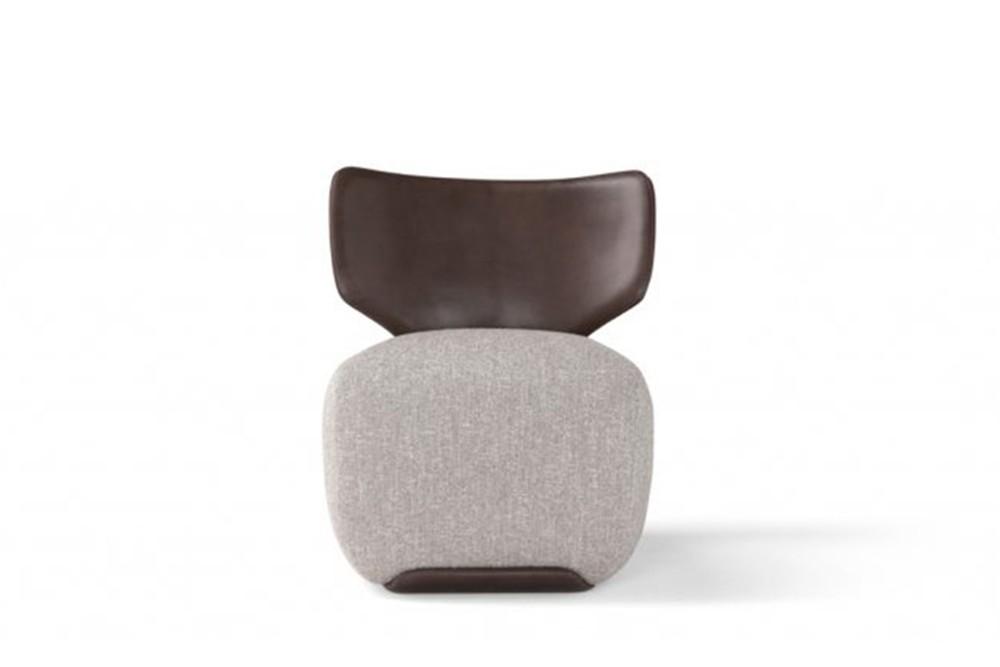 Noa 1 Noa 1.jpg Noa_ By Amura_ Designed by Stefano Bigi_Ergonomic back frame_Leather and fabric upholstery