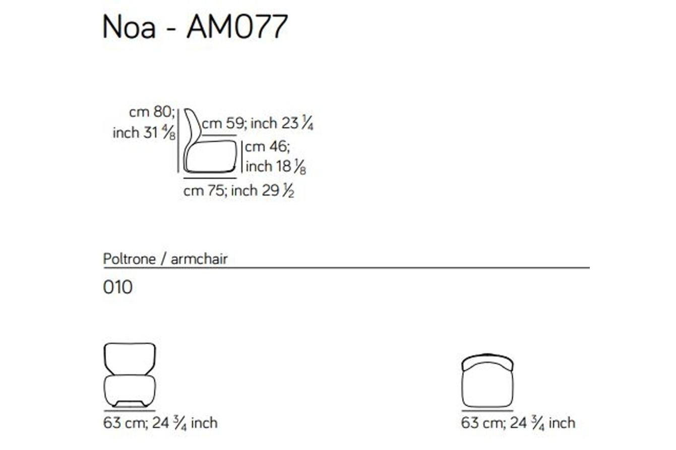 Noa spec sheet Noa spec sheet.JPG Noa%5F By Amura%5F Designed by Stefano Bigi%5FErgonomic back frame%5FLeather and fabric upholstery