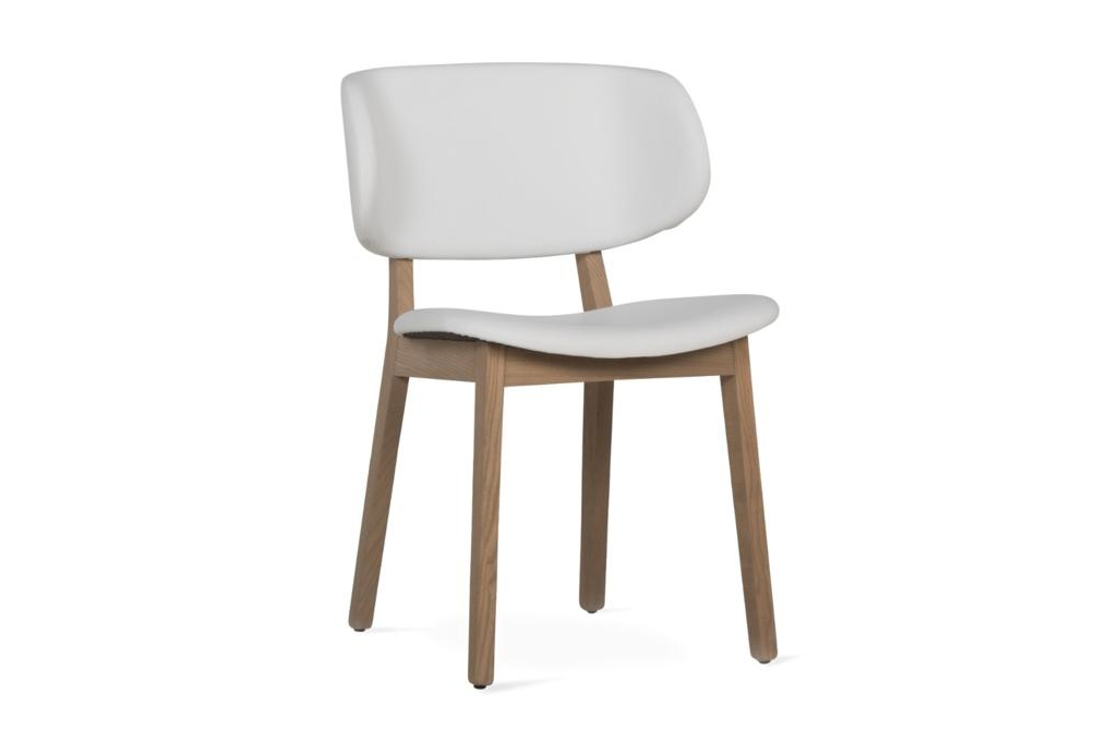 Claire Dining Chair White Leather Natural Claire Dining Chair SKUs Various