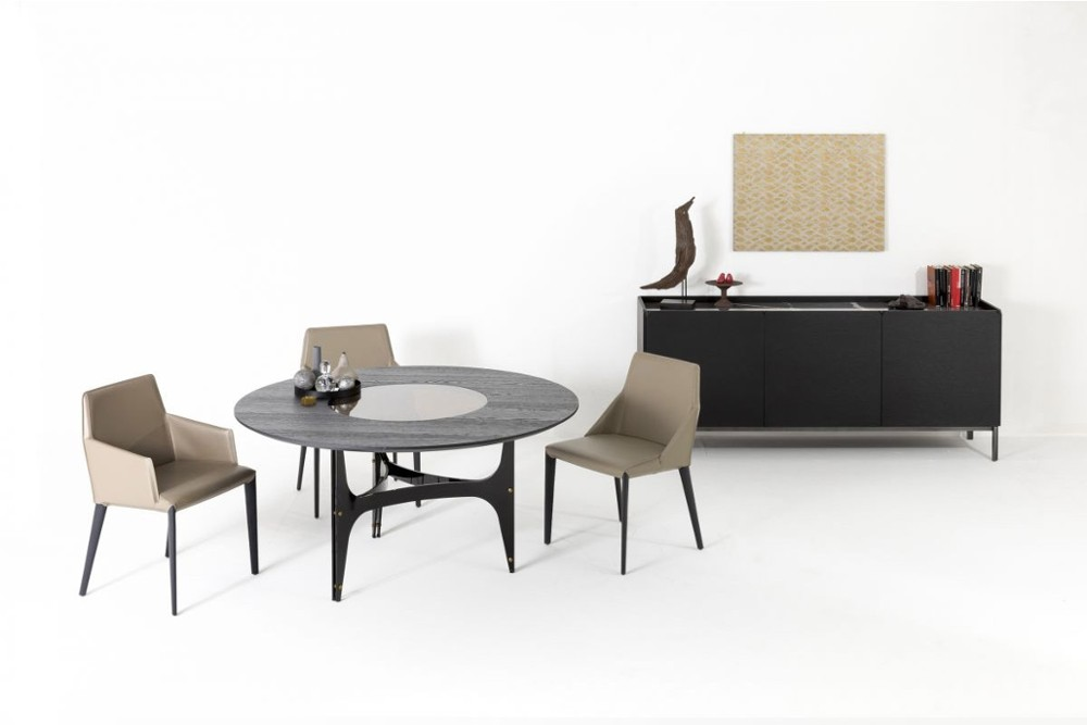 Universe%20round%201.jpg Universe Round Dining Table_ By Bontempi Casa_ Made in Italy_ H Shaped Base_ Lazy Suzan_Ceramic_Wood_Glass Universe%20round%201.jpg