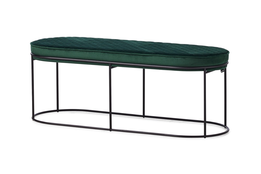 CS5105 Atollo Bench Otto Forest Green Venice Black Metal Frame Calligaris Angle CS5105_Atollo_Bench_Otto_Forest-Green-Venice_Black-Metal-Frame_Calligaris_Angle.jpg